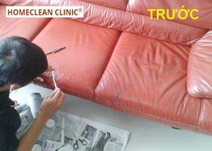 dịch vụ sửa chữa ghế da sofa tại tphcm